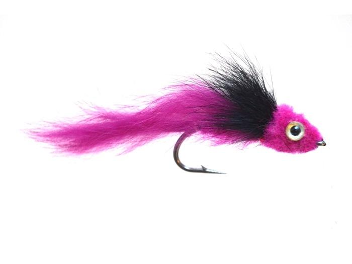 PIKE FLIES WIDOWER PINK #3/0