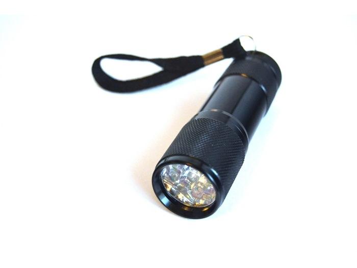 Power UV Lygte (Lev u/ AAA batterier)