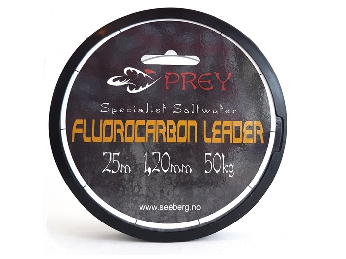 Prey Fluorocarbon Leader 25m 1,20mm - 50kg