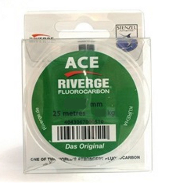 Riverge fluorcarbon Ace 25m 0,205-0,285mm