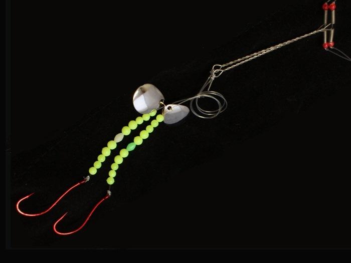 Søvik Natural/Flounder Bait 9 (Line 0,60 Hook# 2/0)