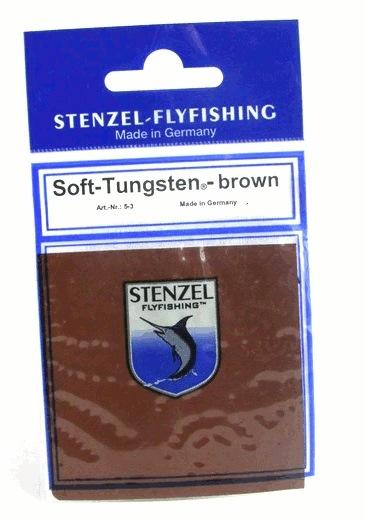 Stenzel Soft tungsten brun.