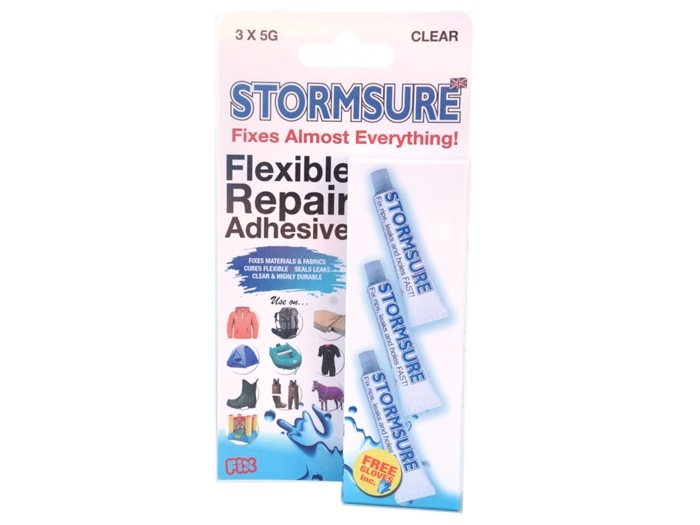 Stormsure Clear glue 3 X 5g blisterpack