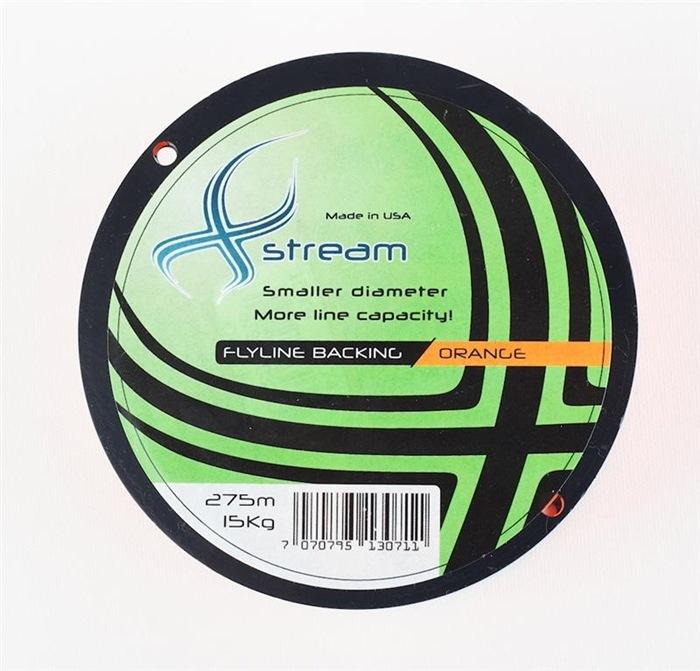 Xstream Backing 200m. 30lbs. Orange